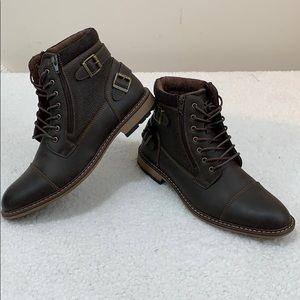 b592ddf10253a Arizona Feldspar Chukka Flat Heel Lace-Up Boots